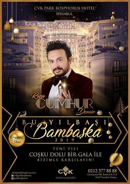 Cvk Park Bosphorus Hotel İstanbul Yılbaşı 2019