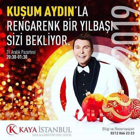 Kaya Otel İstanbul Yılbaşı Programı 2019