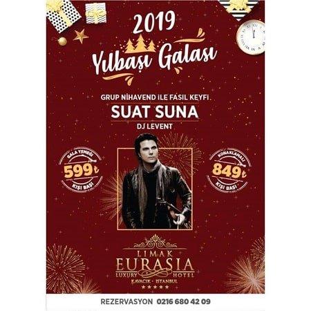 Limak Eurasia Luxury Hotel Yılbaşı Programı 2019