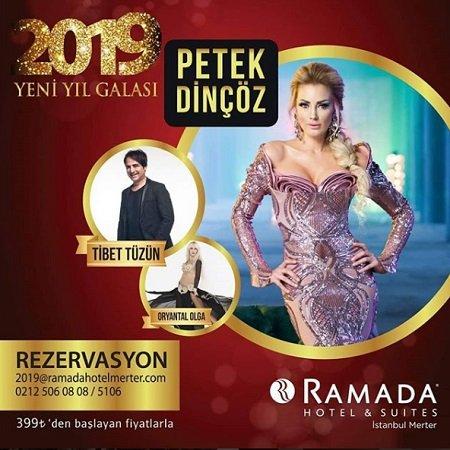Ramada Otel İstanbul Merter Yılbaşı Programı 2019