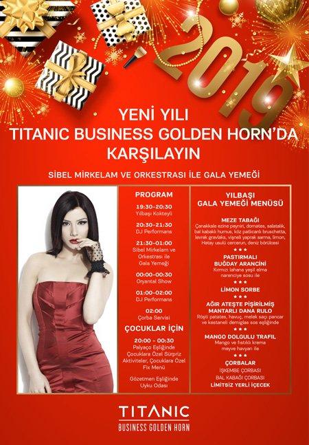 Titanic Business Golden Horn Otel İstanbul Yılbaşı 2019