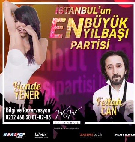 Wow İstanbul Hotel Yılbaşı Programı 2019