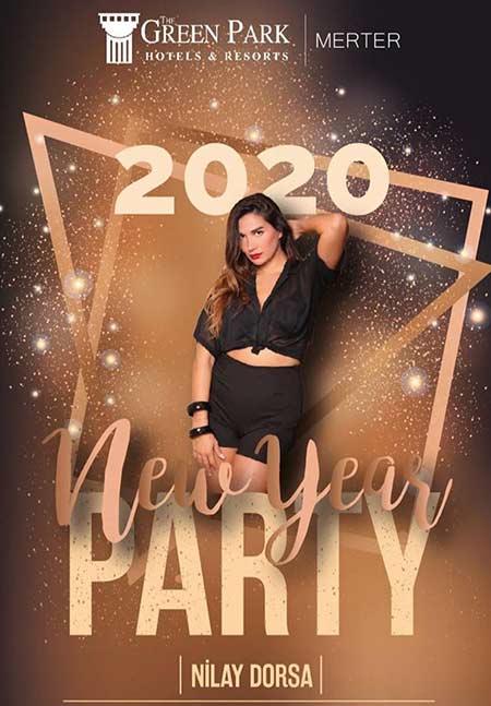 Green Park Hotel Merter Yılbaşı Programı 2020
