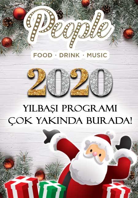 People İstanbul Yılbaşı 2020