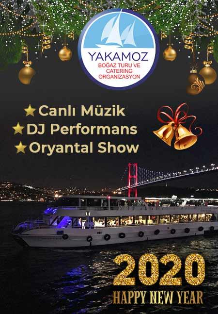 Yakamoz Boğaz Turu ile 2020 Yılbaşı