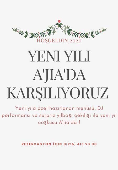 Ajia İstanbul Hotel Yılbaşı 2020