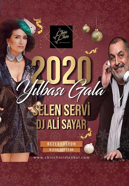 Chin Chin İstanbul Yılbaşı 2020