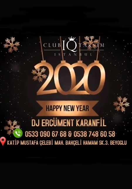 Club Iq Taksim Yılbaşı 2020