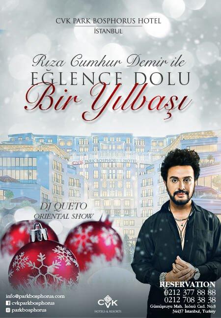 CVK Park Bosphorus Hotel İstanbul Yılbaşı 2020