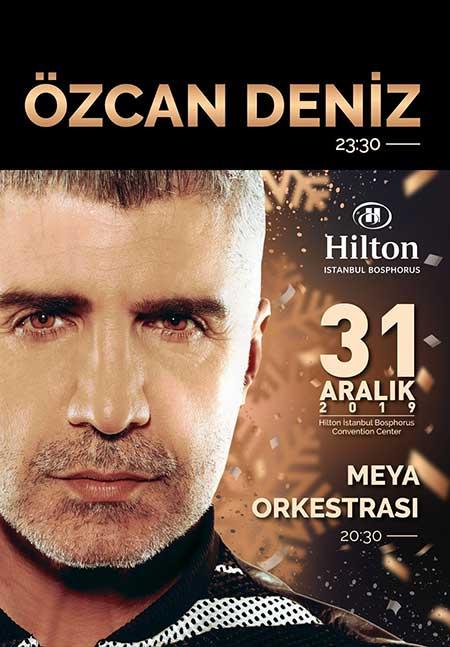 Hilton İstanbul Bosphorus Yılbaşı Programı 2020
