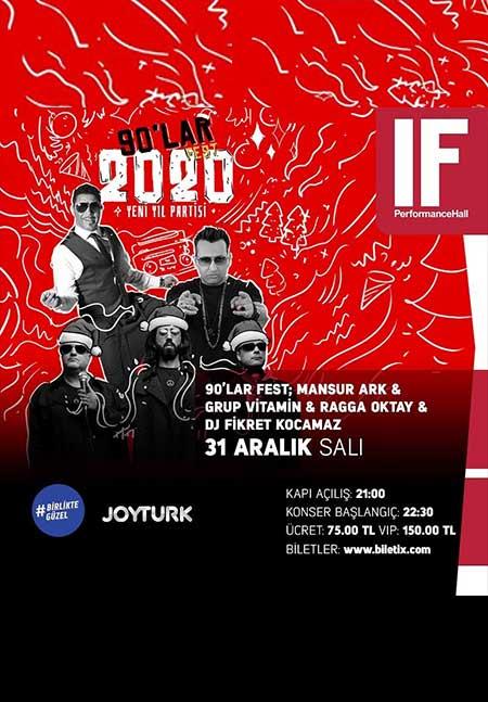 If Performance Ataşehir Yılbaşı 2020