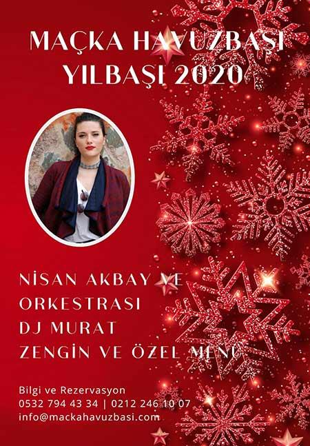 İTÜ Maçka Havuzbaşı Restaurant Yılbaşı Programı 2020