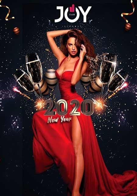 Joy Club İstanbul Yılbaşı Partisi 2020