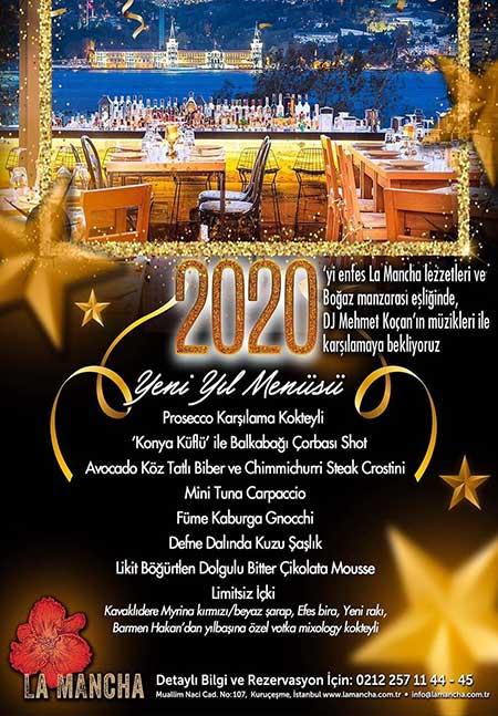La Mancha İstanbul Yılbaşı 2020