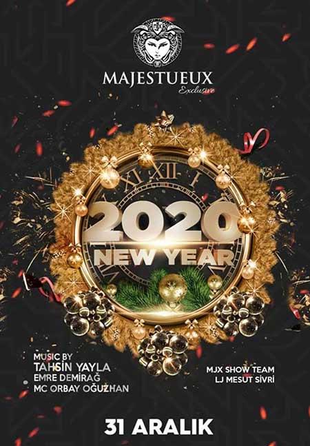 Majestueux Club Ortaköy Yılbaşı 2020