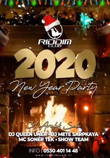Rıddım Club İstanbul Yılbaşı 2020